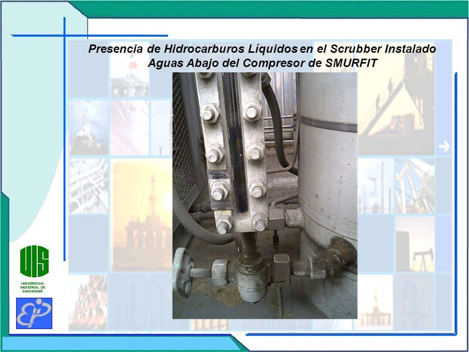 Presencia de Hidrocarburos Líquidos en el Scrubber Instalado Aguas Abajo del Compresor de SMURFIT
