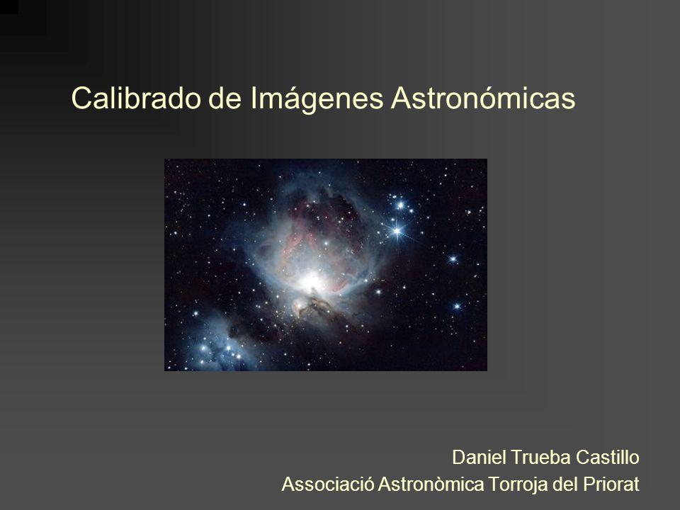 Calibrado de Imágenes Astronómicas