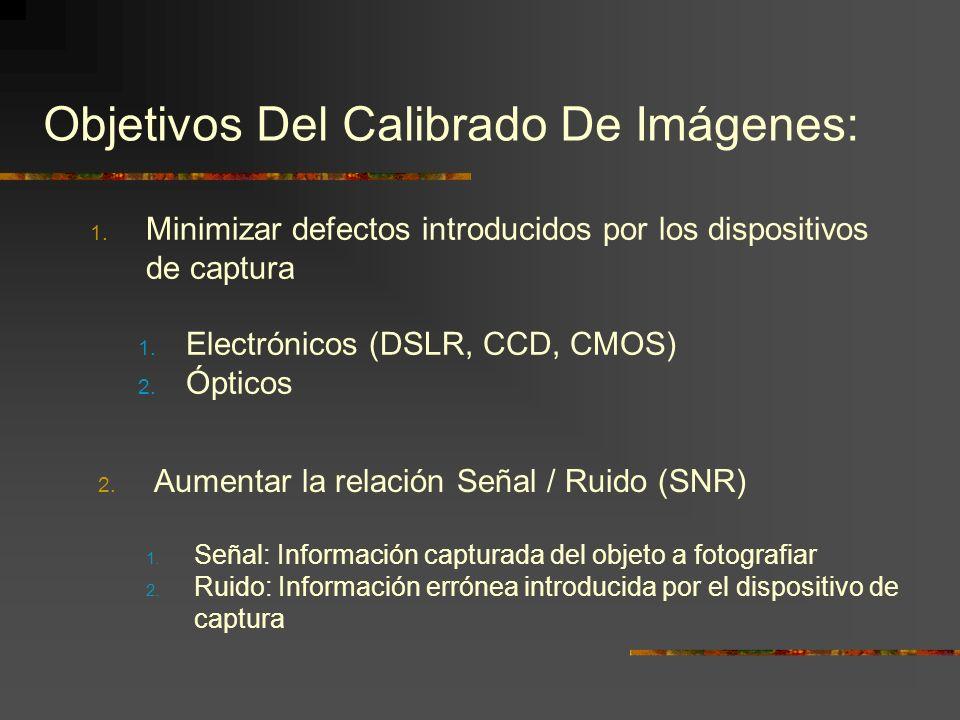Objetivos Del Calibrado De Imágenes: