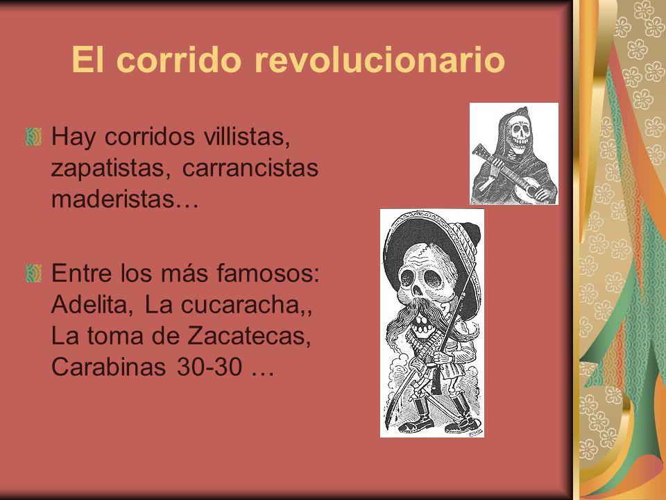 El corrido revolucionario
