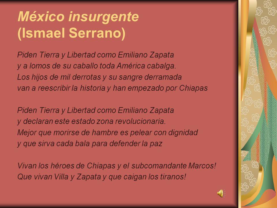 México insurgente (Ismael Serrano)