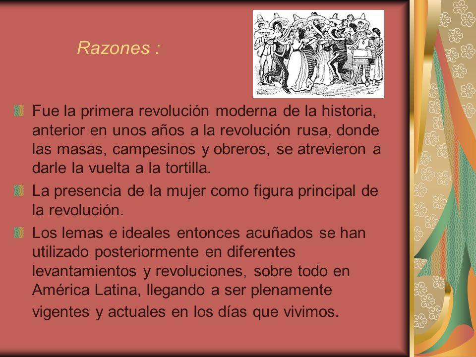 Razones :