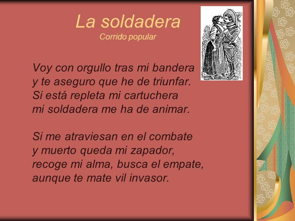 La soldadera Corrido popular