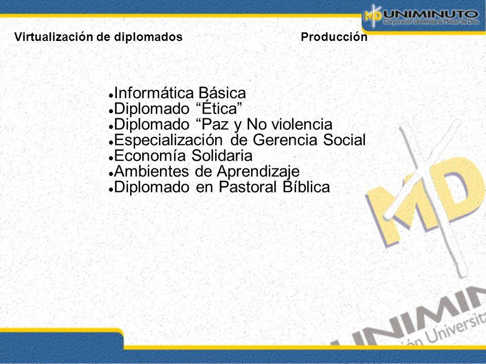 Diplomado Paz y No violencia Especialización de Gerencia Social