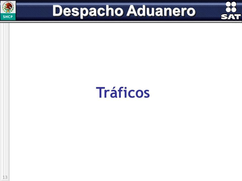 Despacho Aduanero Tráficos 13