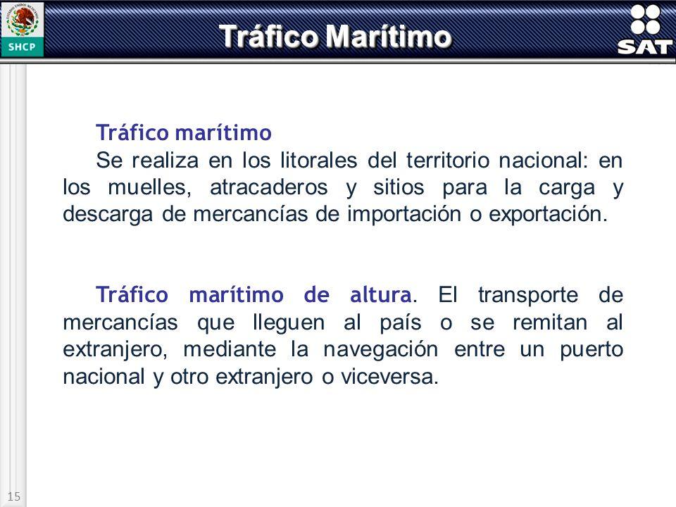 Tráfico Marítimo Tráfico marítimo