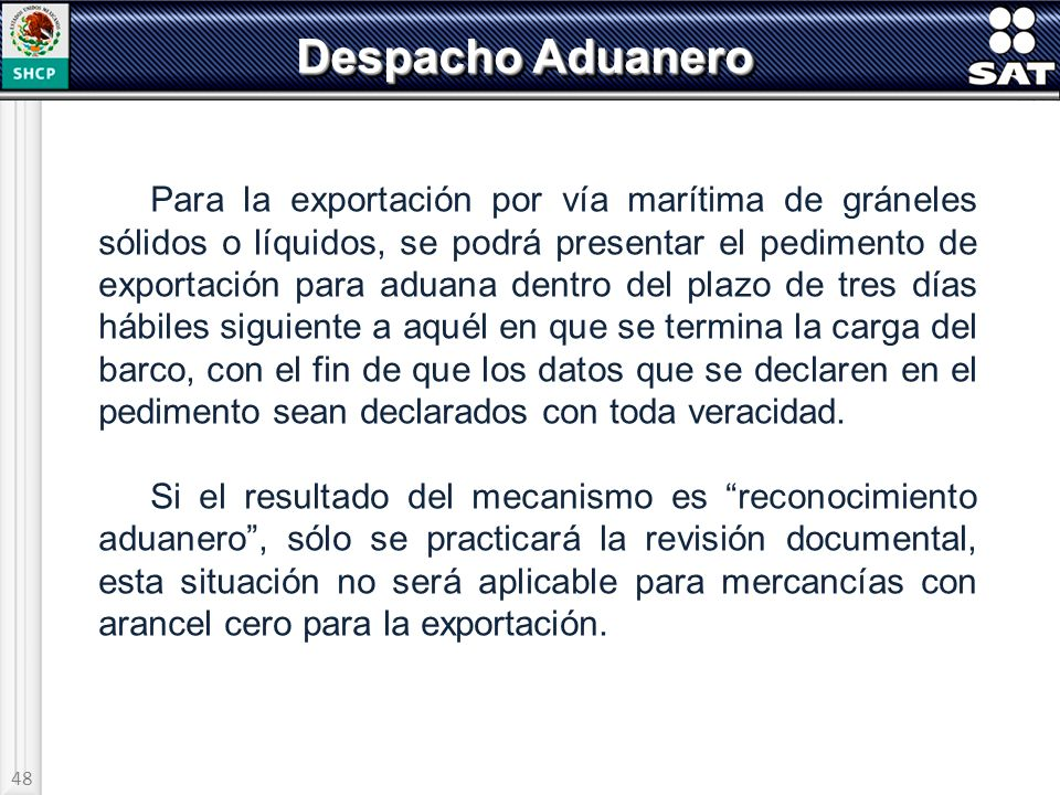 Despacho Aduanero