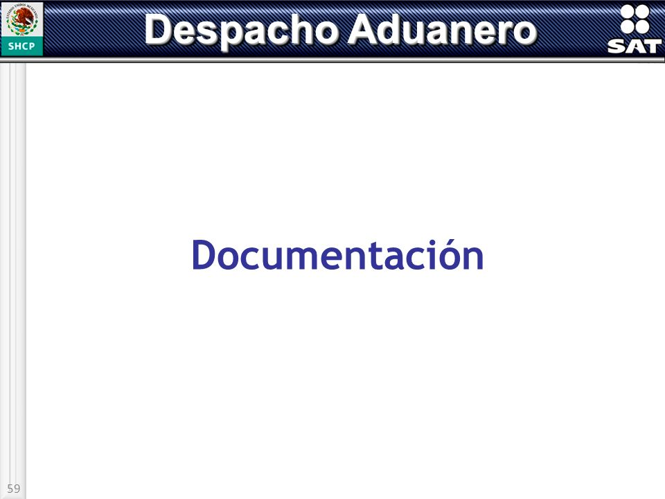 Despacho Aduanero Documentación 59