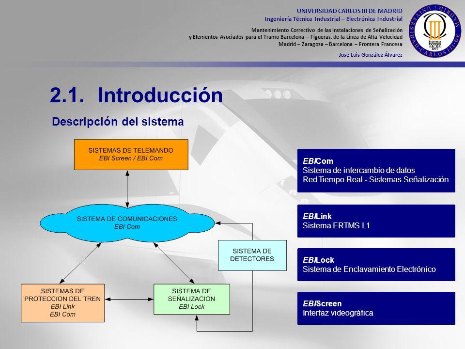 2.1. Introducción Descripción del sistema EBICom