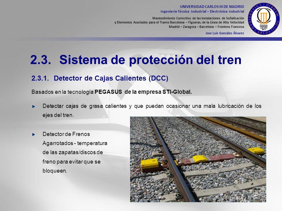 2.3. Sistema de protección del tren