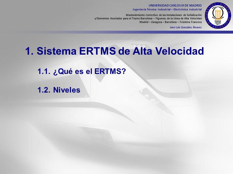 1. Sistema ERTMS de Alta Velocidad
