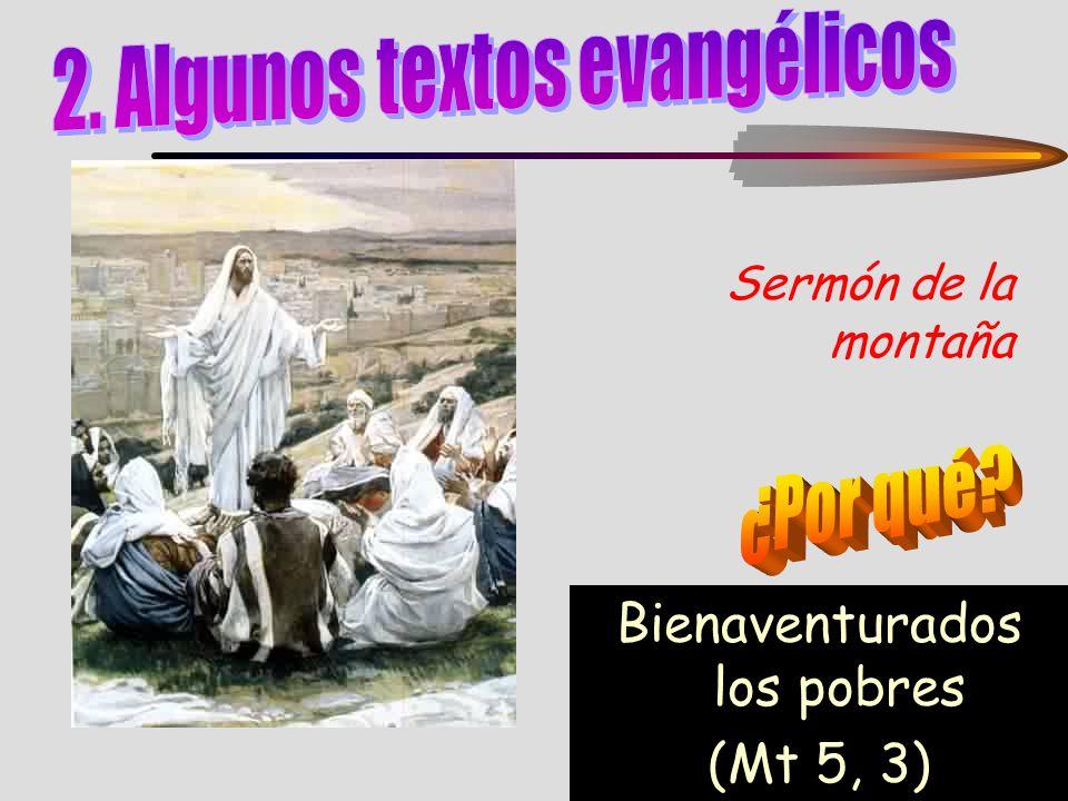 2. Algunos textos evangélicos