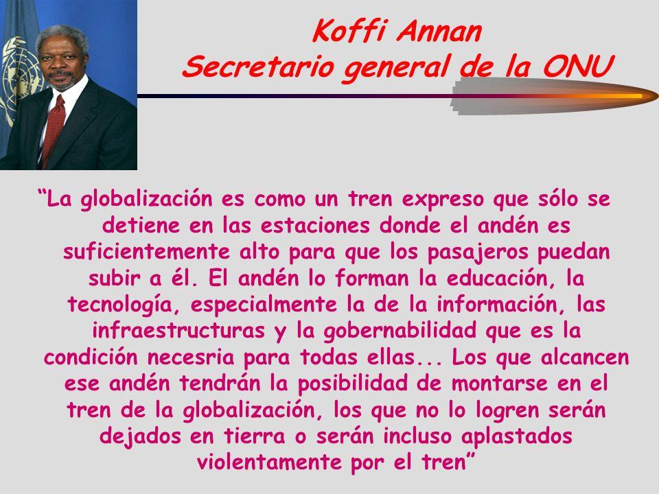 Koffi Annan Secretario general de la ONU
