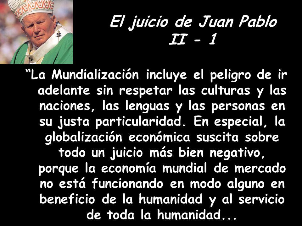 El juicio de Juan Pablo II - 1