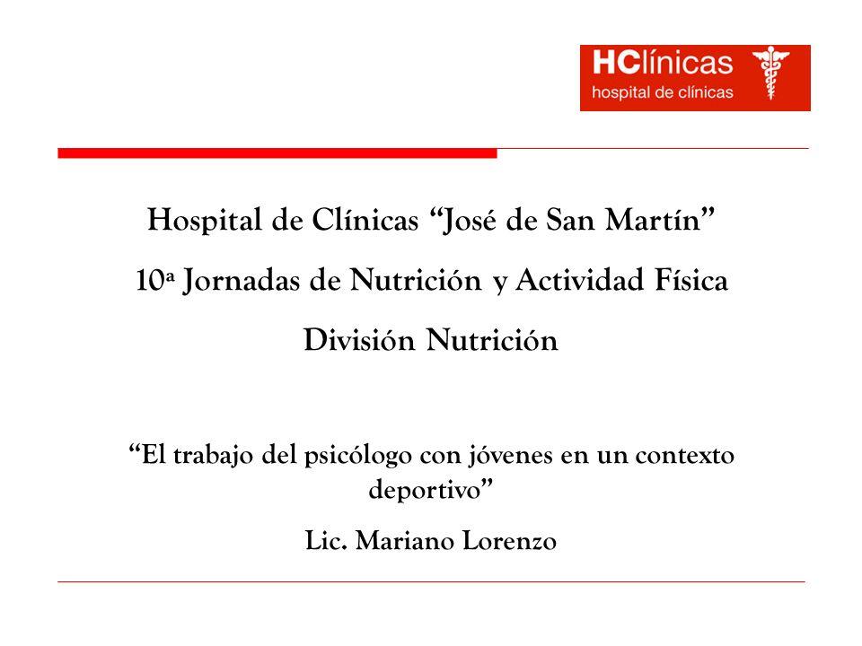 Hospital de Clínicas José de San Martín
