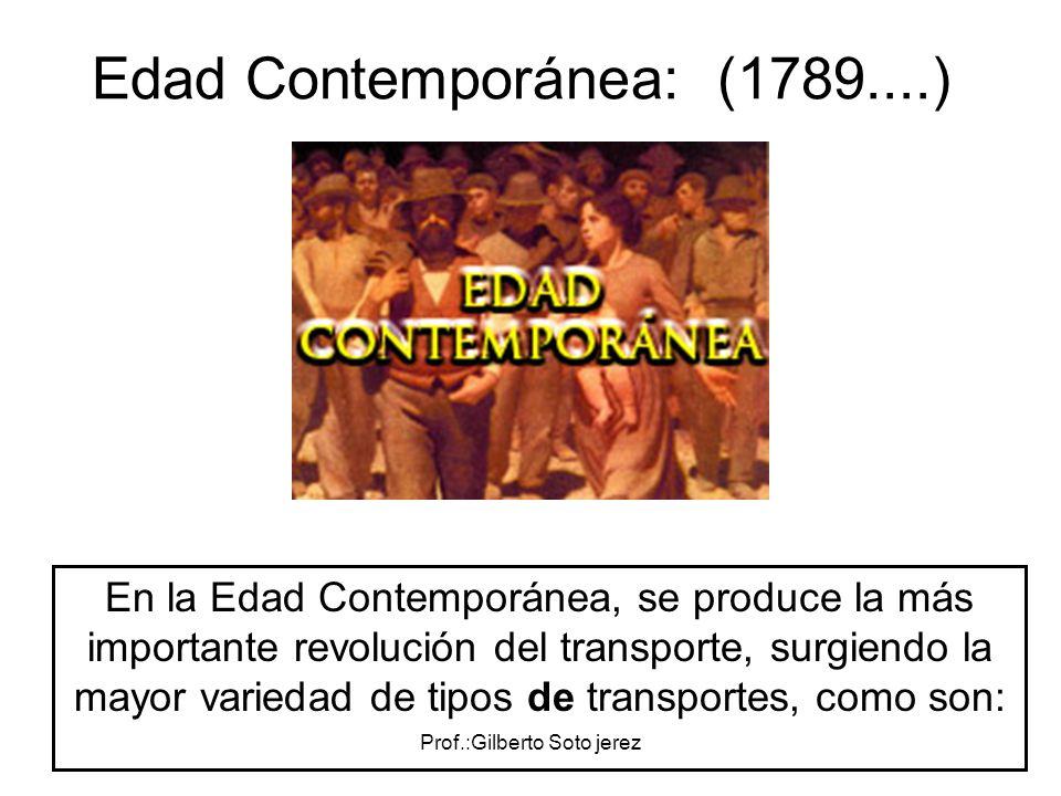 Edad Contemporánea: (1789....)