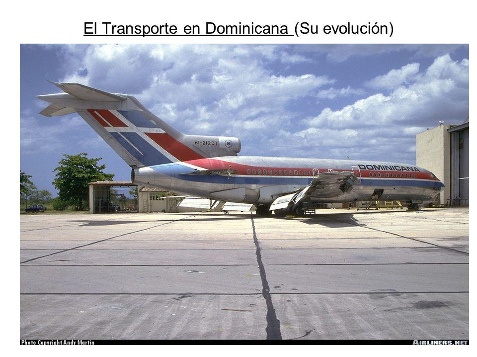 El Transporte en Dominicana (Su evolución)