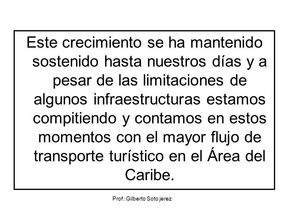 Prof.:Gilberto Soto jerez