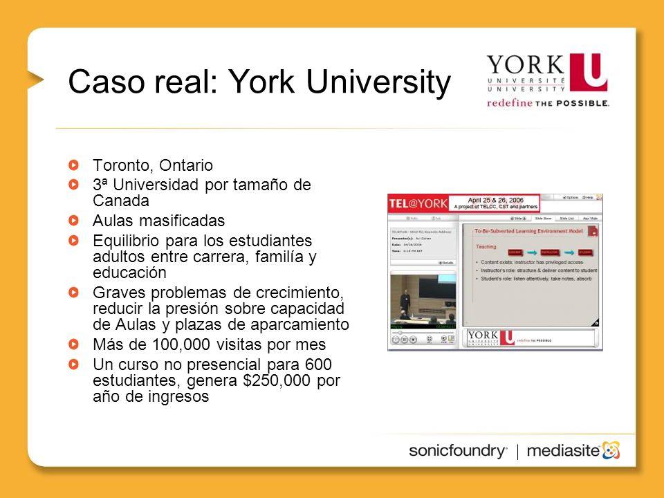Caso real: York University