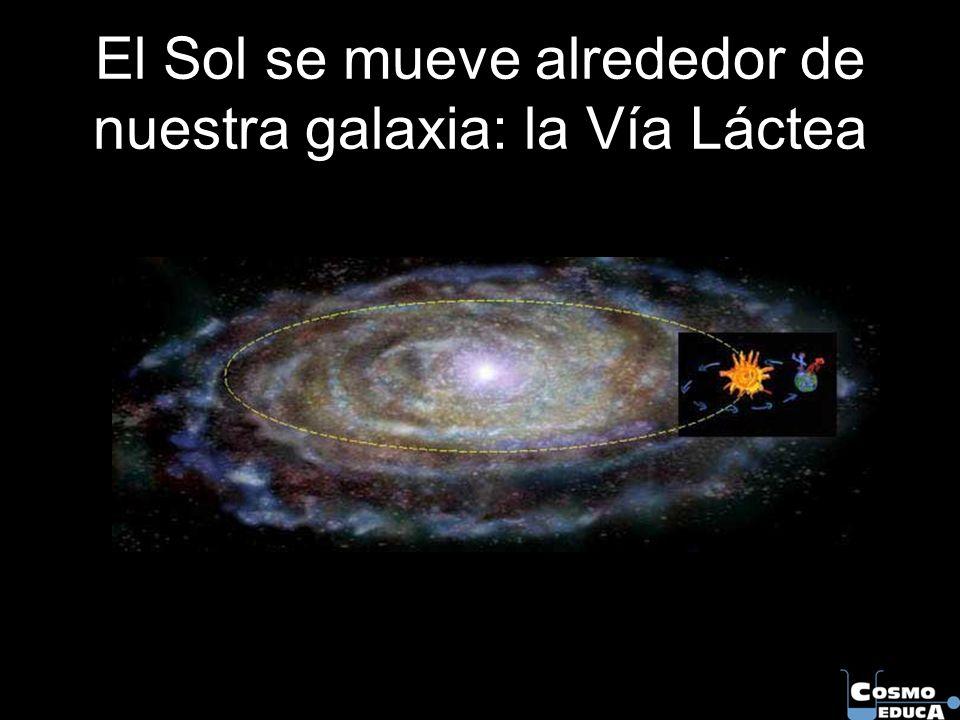 El Sol se mueve alrededor de nuestra galaxia: la Vía Láctea