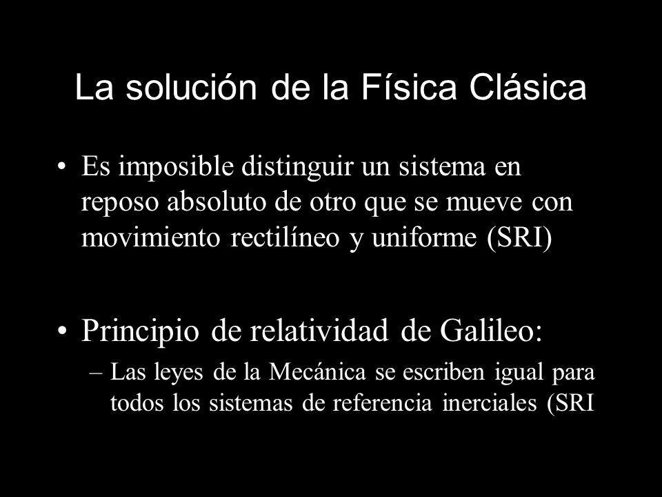 La solución de la Física Clásica