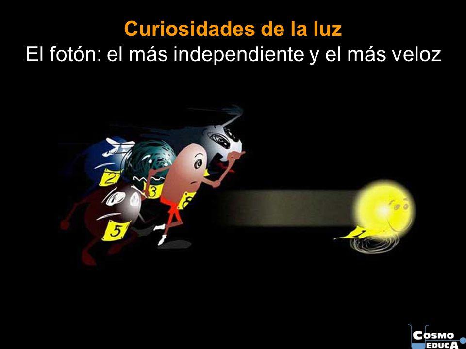 Curiosidades de la luz El fotón: el más independiente y el más veloz
