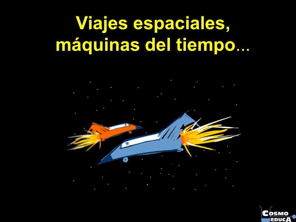 Viajes espaciales, máquinas del tiempo...