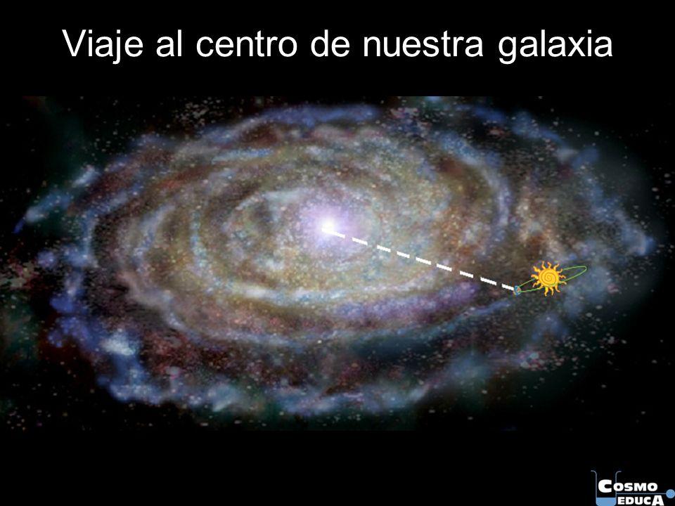 Viaje al centro de nuestra galaxia