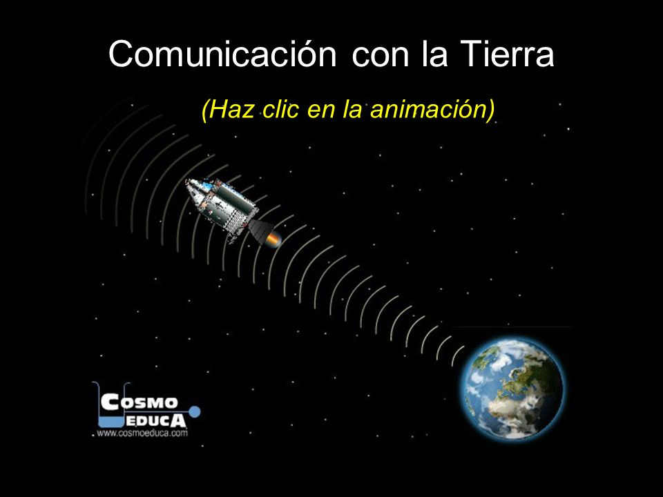 Comunicación con la Tierra