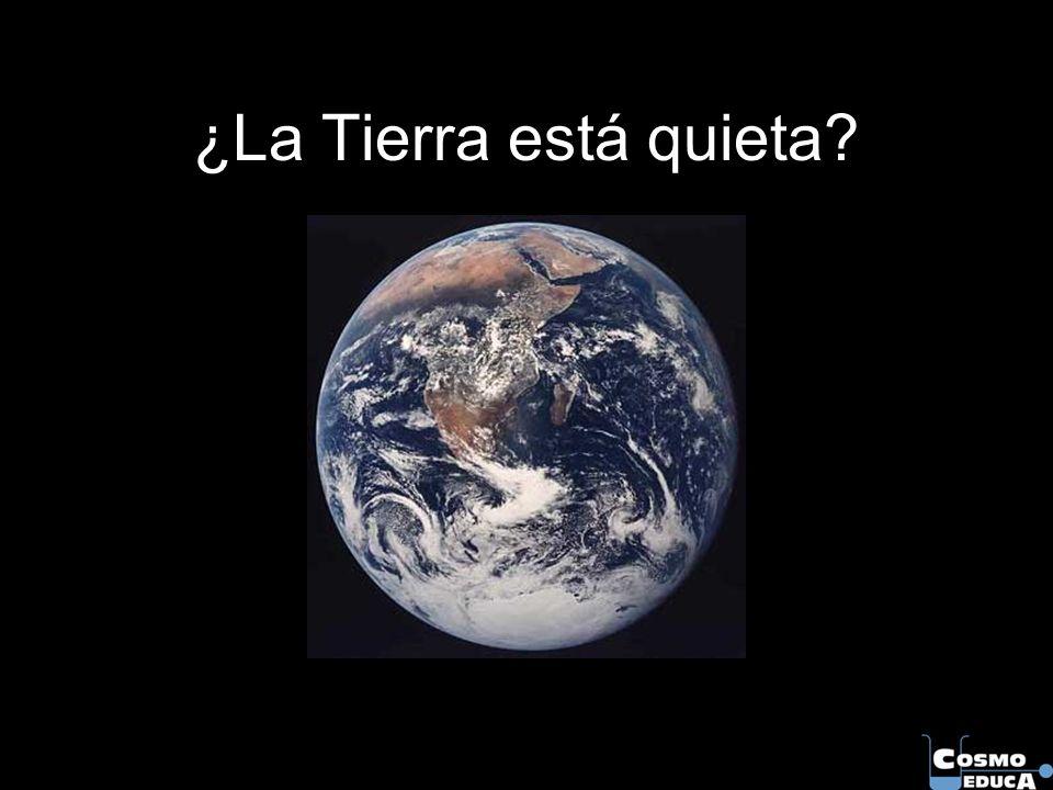 ¿La Tierra está quieta