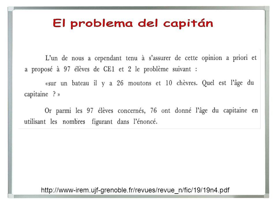 El problema del capitán