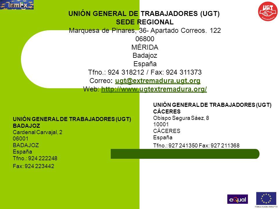 UNIÓN GENERAL DE TRABAJADORES (UGT)