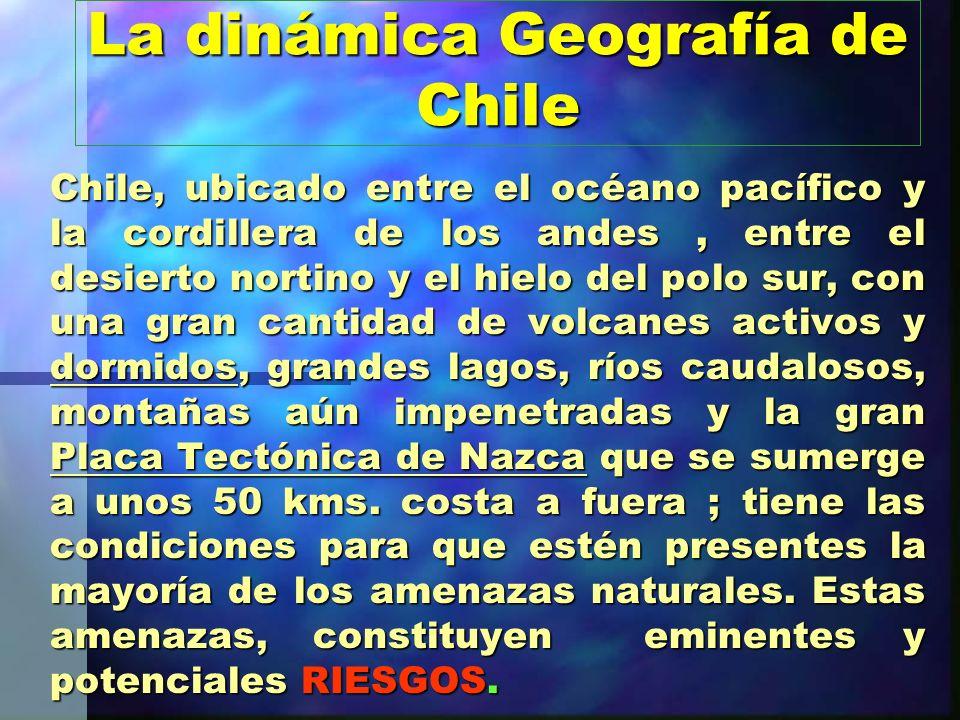 La dinámica Geografía de Chile