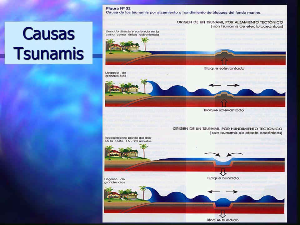 Causas Tsunamis