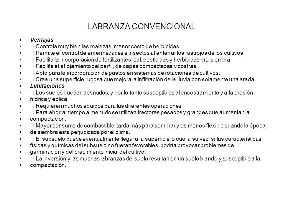 LABRANZA CONVENCIONAL