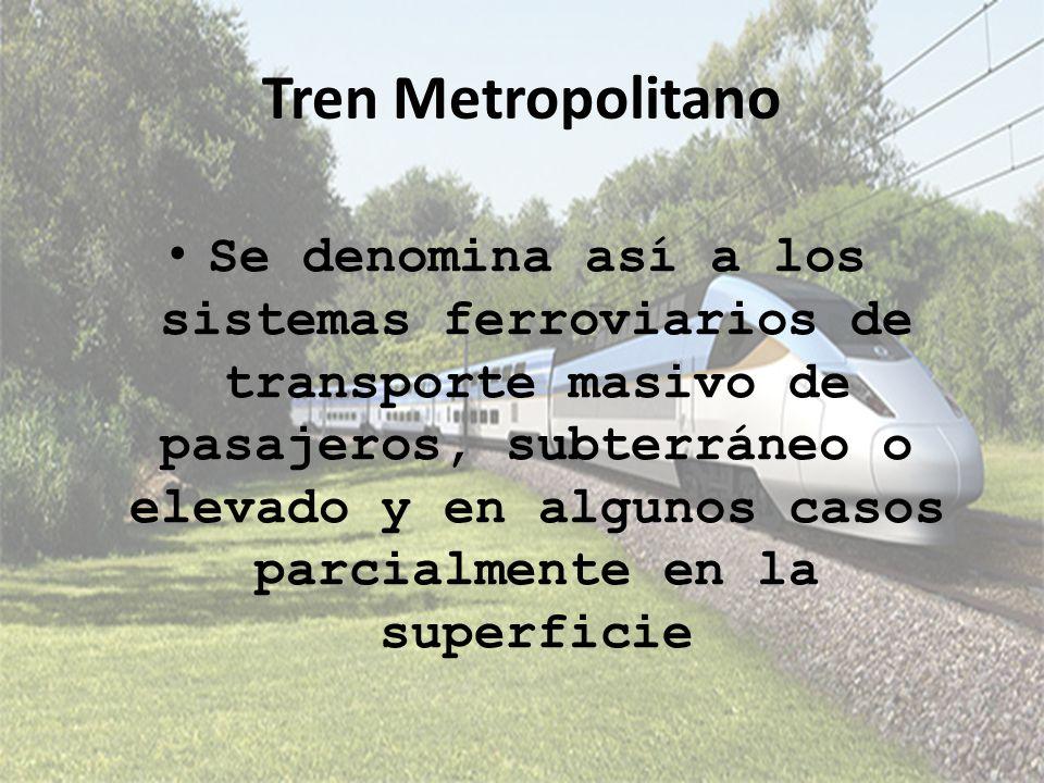 Tren Metropolitano