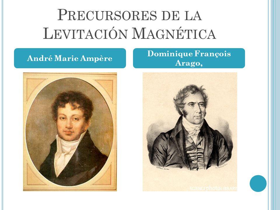 Precursores de la Levitación Magnética