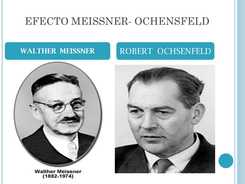 EFECTO MEISSNER- OCHENSFELD