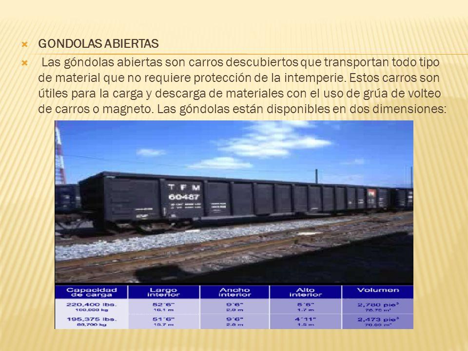 GONDOLAS ABIERTAS