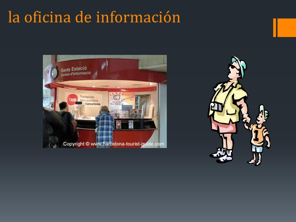 la oficina de información