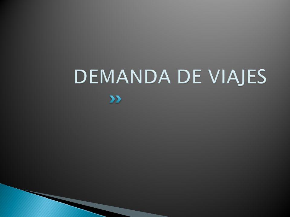 DEMANDA DE VIAJES