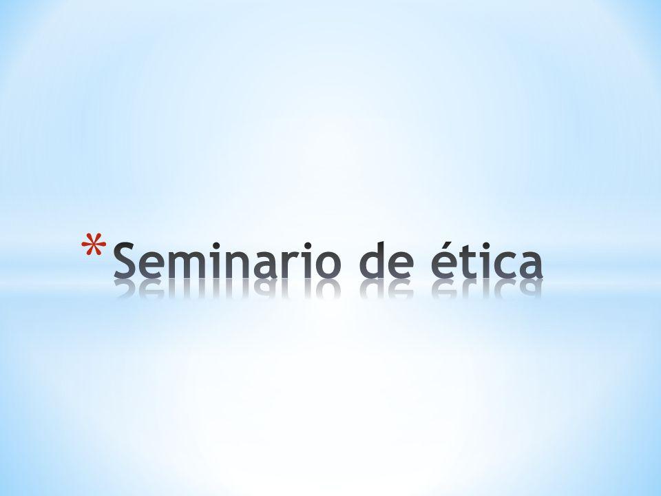 Seminario de ética