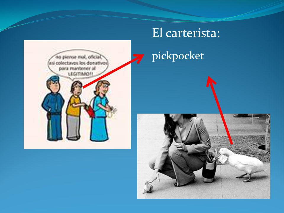 El carterista: pickpocket