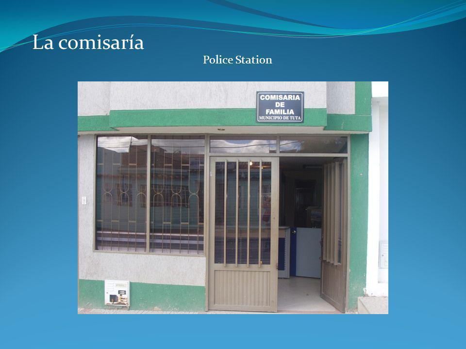 La comisaría Police Station
