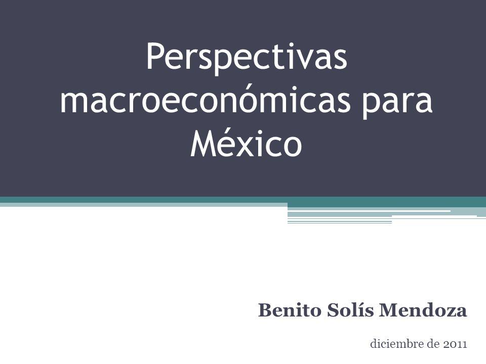 Perspectivas macroeconómicas para México