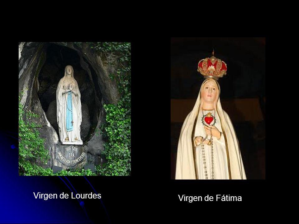 Virgen de Lourdes Virgen de Fátima
