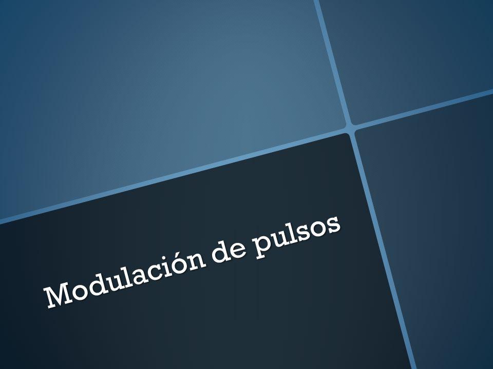 Modulación de pulsos