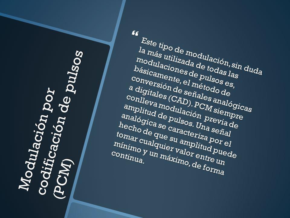 Modulación por codificación de pulsos (PCM)
