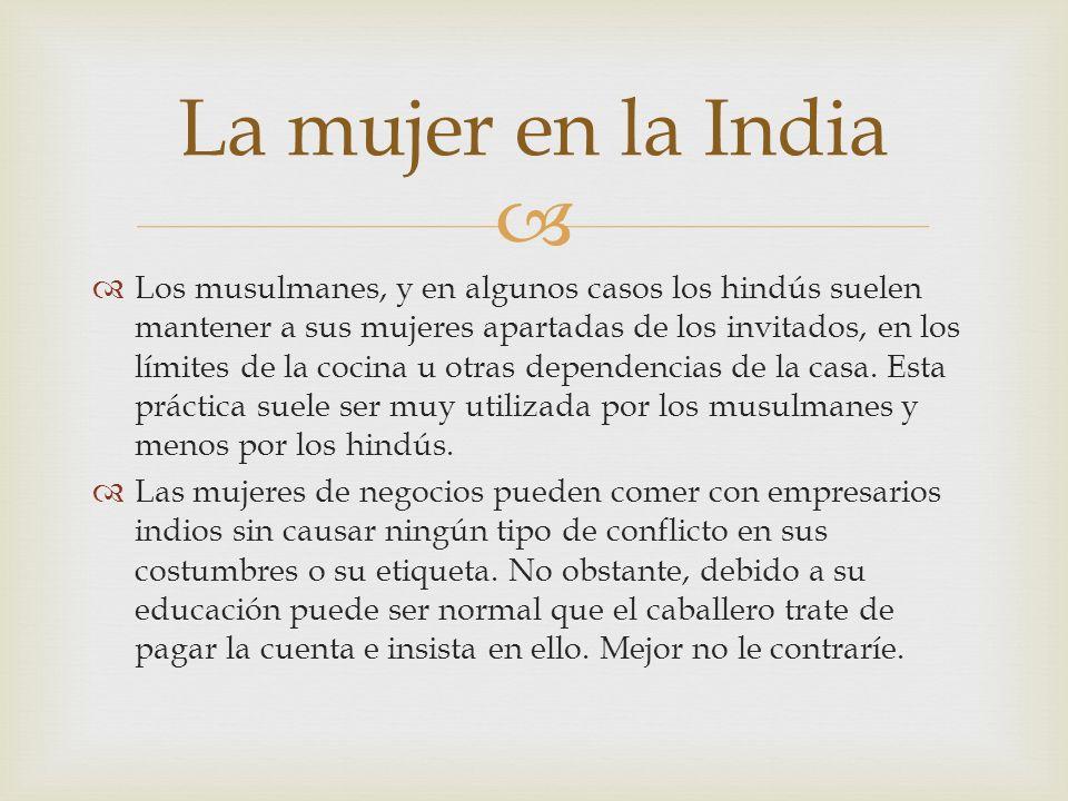 La mujer en la India