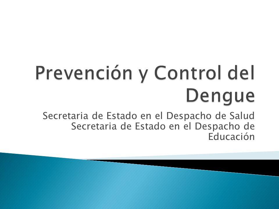 Prevención y Control del Dengue